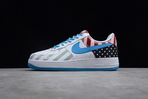 Nike Air Force 1 Low 07 White Sport Red Gloss 315122 126