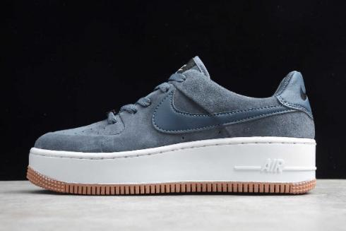 air force 1 sage low grise