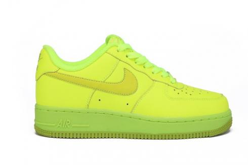 Air Force 1 Low Volt Fierce Green GS Casual Sneakers 596728 701