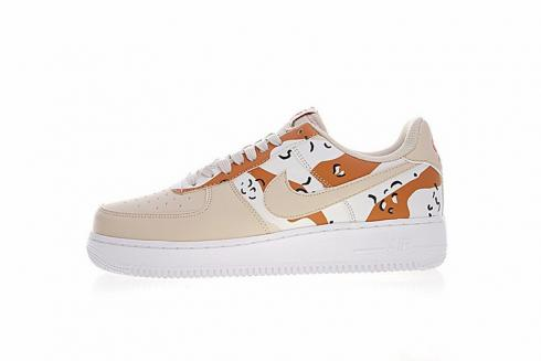 Nike Air Force 1 07 LV8 Country Camo Pack Beige | 823511 202