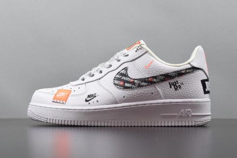 Nike Air Force 1 07 Prm Jdi just Do It AR7719 100 white