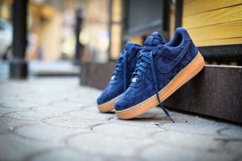 Nike Air Force 1'07 Suede Midnight Navy
