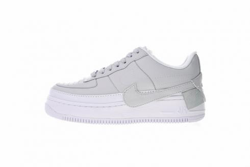 sells factory price new high quality Nike Air Force 1 Jester XX Light Grey White Casual Shoes AO1220-100