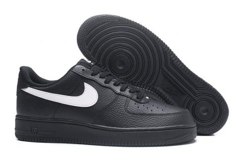 new products 088b4 3b099 Nike Air Force 1 Low 07 LV8 Black Amarillo Yellow Swoosh AA4083-002 ...