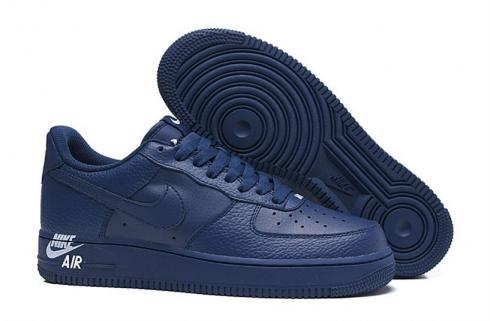 blue low top air force ones