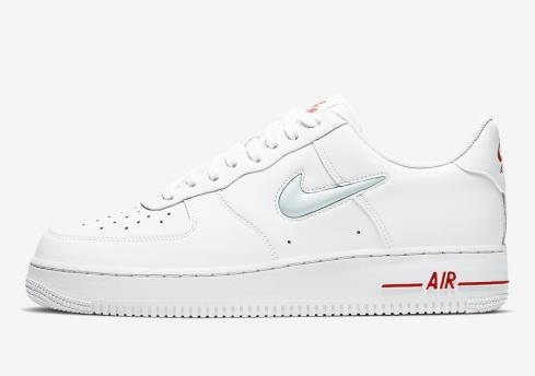 Nike Air Force 1 Low Jewel White Red