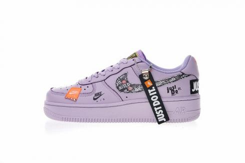 Air Do Force Black 1 It Low Violet Nike Just 616725 500