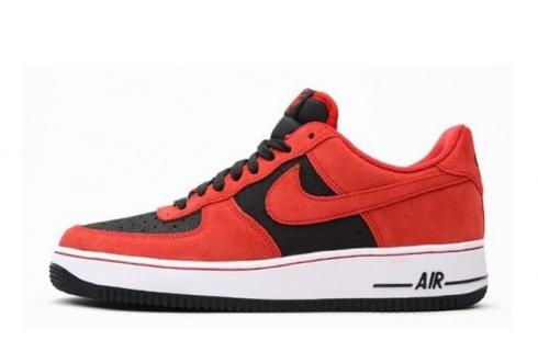Nike Air Force 1 Mens Shoes Black Red White 488298 619 Sepsport