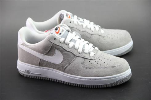 Nike Air Force 1 Suede Pack Wolf Grey