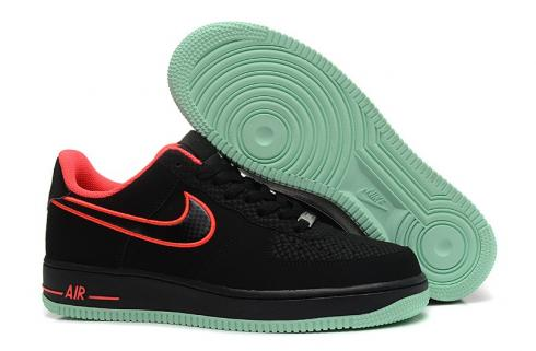 Nike Air Force 1 Yeezy Black Laser Crimson Arctic Green 488298 048