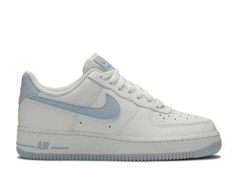 Nike Wmns Air Force 1 Low 07 Light Armory Blue White AH0287-104