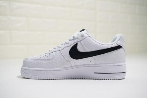 Supreme x The North Face x Nike Air Force 1 Low White Black AR3066 100