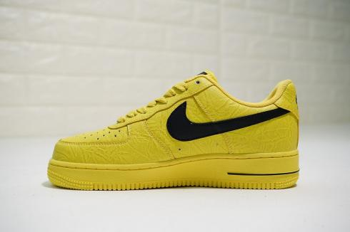 x Nike Air Force 1 Low Yellow Black