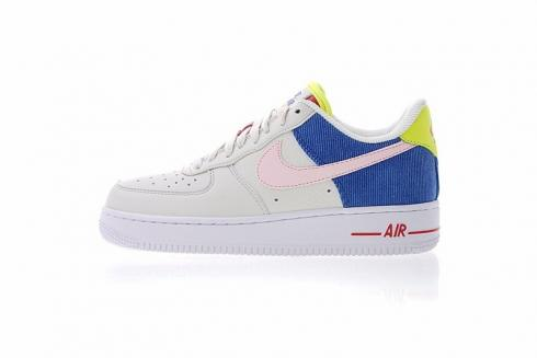 Sail Low Pink Racer Aq4139 101 Force W Corduroy Arctic Blue Nike 1 Air 4Sc3jL5AqR