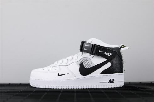 Nike Air Force 1 Mid 07 LV8 Utility White Black 804609-103