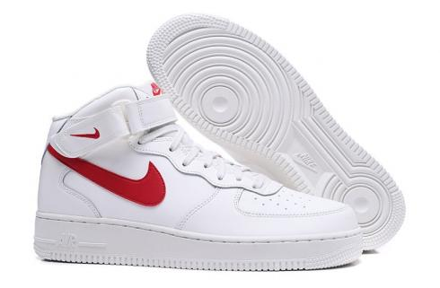 Mid 126 1 University Red Force Sail Air White Nike 315123 nO80kwPX