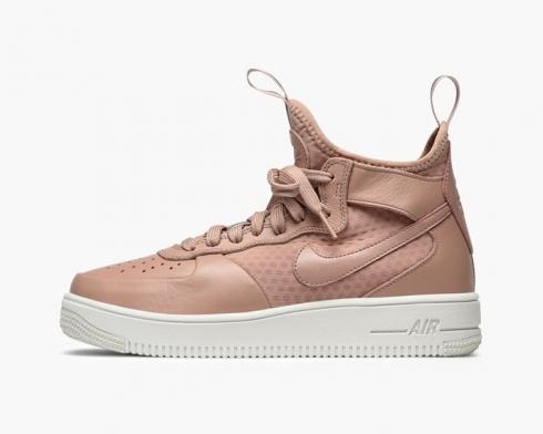 Nike Wmns Air Force 1 Ultraforce Mid Particle Pink Sail Womens ...