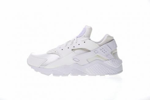 11c10b0a7ced7 Nike Air Huarache Run Triple White White Sneakers 634835-108 - Sepsport