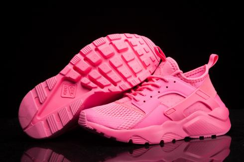 Nike Air Huarache Run Ultra Breathe Women Sneakers Shoes All Pink 833292 600 Sepsport