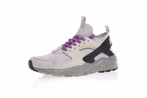dfcc769778be Prev Nike Air Huarache Ultra Flyknit ID Custom Linen Grey 829669-334