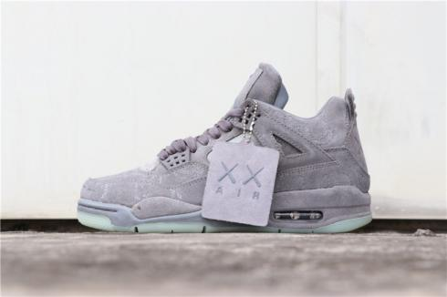 official photos 2436b 9acc6 KAWS X Nike Air Jordan 4 Retro Cool Grey 930155-003