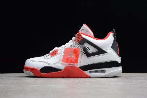 nike air jordan retro 4 black red