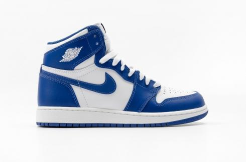 Air Jordan 1 Retro High OG GS Storm Blue White 575441-127