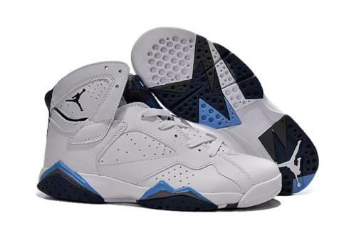 sports shoes 6e440 e2aff Nike Air Jordan VII 7 Retro Men Basketball Shoes White Grey 304775 ...