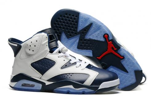 43d646626e9 Prev Nike Air Jordan 6 VI Retro Olympic 2012 White Navy Blue Varsity Red Men  Shoes 384664
