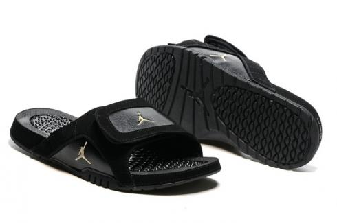 06501deb1 Nike Jordan Hydro XII Retro Men Sandals Slides Flue Game Black Red  820265-001 Item No. 820265-001