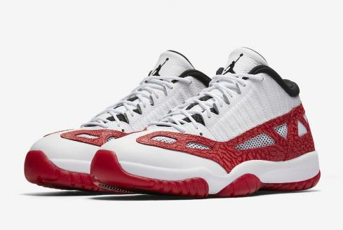 Air Jordan 11 Low Ie Gym Red White Gym Red Black 919712 101 Sepsport