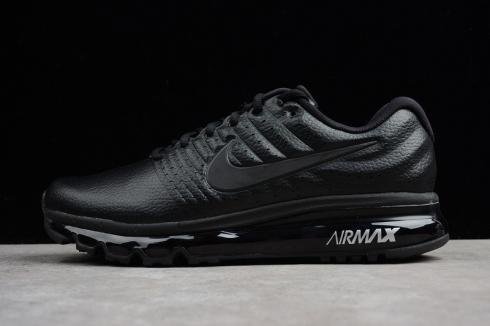 Nike Air Max 2017 Black White Breathable Running Shoes