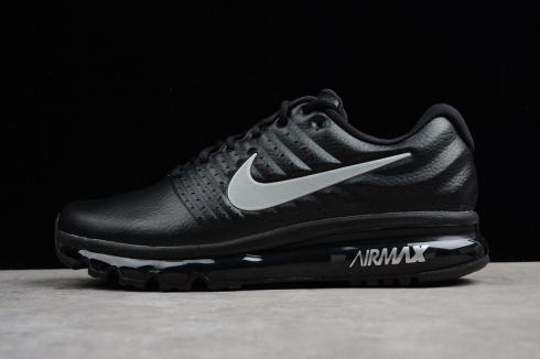 good out x official store 100% authentic Nike Air Max 2017 Black Anthracite Orange Reflective Shoes 849559 ...