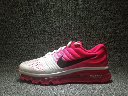 Nike Air Max 2017 Pink White Womens Gradient Shoes 849560-103
