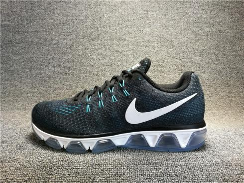 La cabra Billy secundario República  Nike Air Max 20K T8 TAILWIND 8 Black Blue White Varsity 805941-005 -  Sepsport