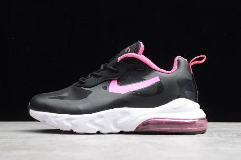 Kids Nike Air Max 270 React Black Pink White Cd2655 008 Sepsport