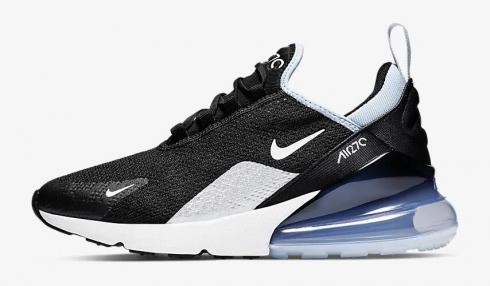 Nike Air Max 270 Black Summit White Aluminum AH6789 009