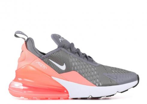 Nike Air Max 270 Gs Gunsmoke Pink White Atomic Light 943346 001