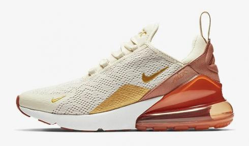 W Air Max 270 in Light Creammetallic Gold terra Blush | Air