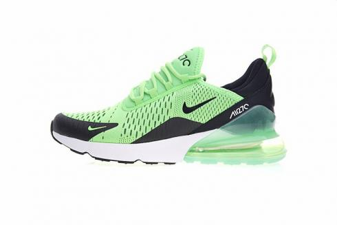 Nike Air Max 270 Light Green Black Athletic Shoes AH8050 301