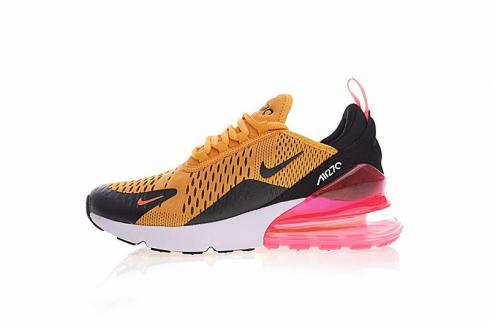 Nike Air Max 270 Yellow Black Pink White Ah8050 706 Sepsport
