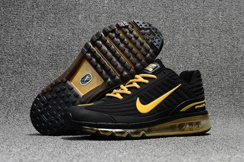 Nike Air Max 2017 KPU Shoes Black Gold Men in 2019 | Nike