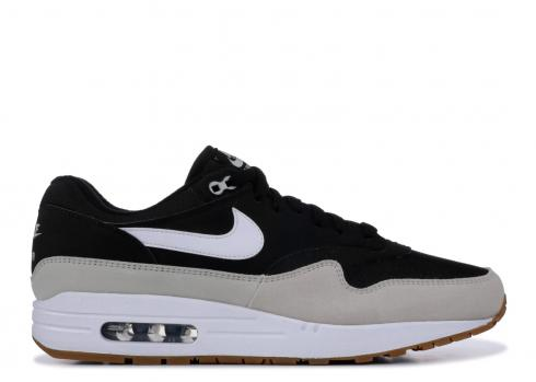 Nike Air Max 1 Black Light Bone White AH8145 009