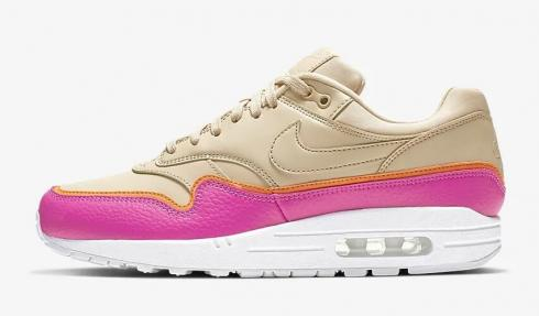 Nike Air Max 1 SE Desert Ore Laser Fuchsia Orange Peel 881101-202