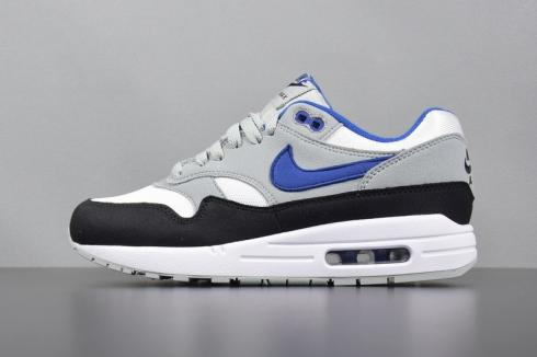 Nike Air Max 1 White Grey Black Blue