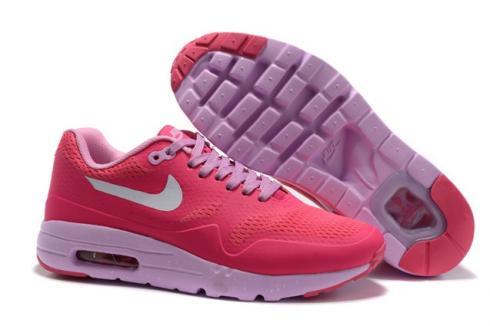 Nike Air Max 1 Ultra Essential BR Women Running Shoes Pink Rose 819476 112