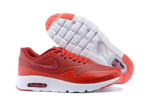 Nike Air Max 1 Ultra Moire Terra Red White 705297 611