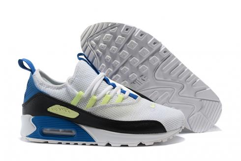 Nike Air Max 90 EZ Running Men Shoes White Black Blue