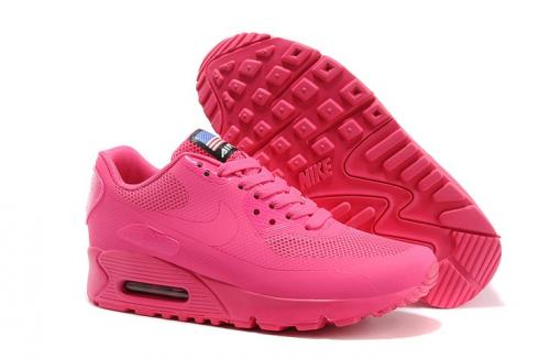 Cereal Ciego Cuestiones diplomáticas  Nike Air Max 90 Hyperfuse QS Women Shoes All Fushia Red July 4TH  Independence Day 613841-222 - Sepsport