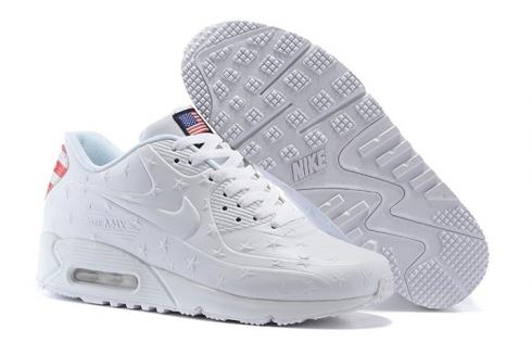 detailed look f22b8 66d2f Nike Air Max 90 VT USA Independance Day Men Shoes White Dot 472489-060